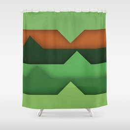 .Different Shower Curtain