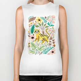 Tiger Jungle Biker Tank