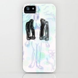Leather Woman iPhone Case