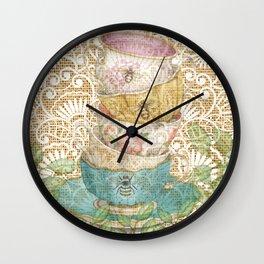 Thoughtful Wall Clock