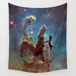 Pillars of Creation- NASA Hubble Telescope Image Wall Tapestry