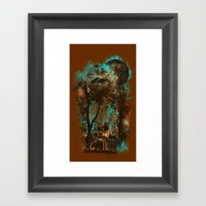 THE LOST FOREST Framed Art Print