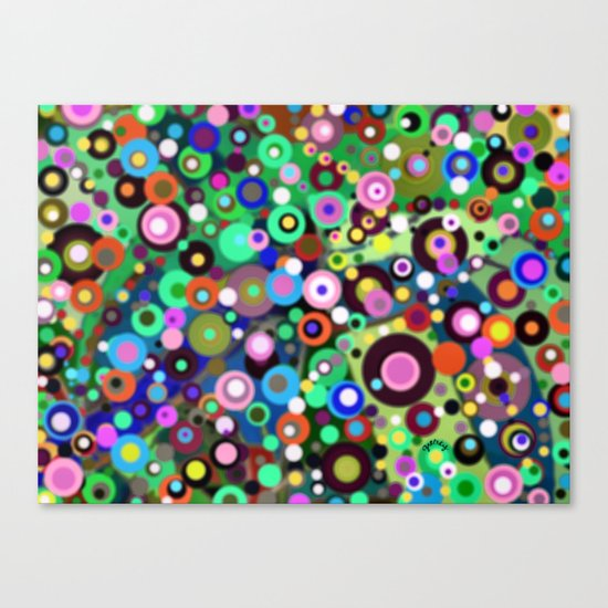 In Circles Canvas Print