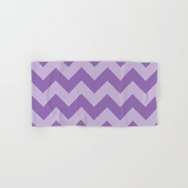 Amethyst Chevron Hand & Bath Towel