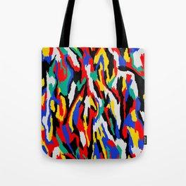 BAUHAUS CAMOUFLAGE Tote Bag