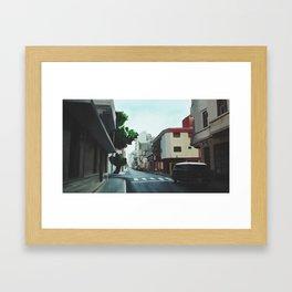 San Telmo, Buenos Aires Framed Art Print