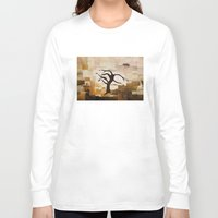 desert Long Sleeve T-shirts featuring DESERT by Carley LoFaso