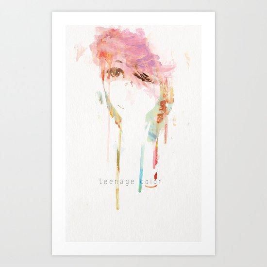 Cotton Candy Dream Art Print