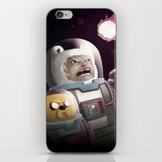 The Comet - Time for adventure in space iPhone & iPod Skin