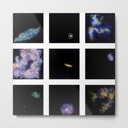 Invented Galaxies (part of a series) Metal Print