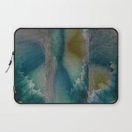 Industrial Wings in Teal Laptop Sleeve
