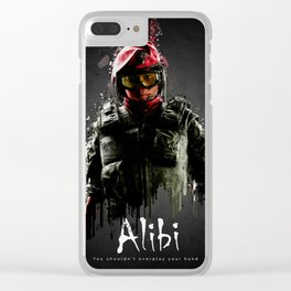 Alibi Clear iPhone Case