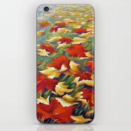 Luxury of Fall iPhone Skin