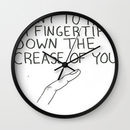 FINGERTIP Wall Clock