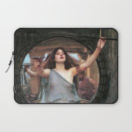 Circe offering the Cup to Odysseus - John William Waterhouse Laptop Sleeve