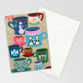 Fa La La La Latte Stationery Cards