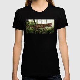 Prowling Allosaurus T-shirt