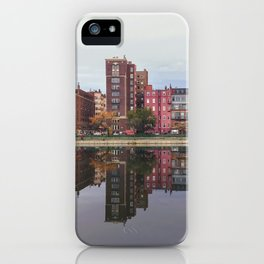 Pink Reflections iPhone Case