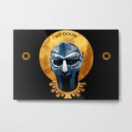 Saint DOOM Metal Print