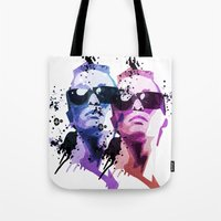 30 seconds to mars Tote Bags featuring 30. by BABA-G | arts and crafts