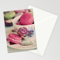 Macarons & Tea Stationery Cards