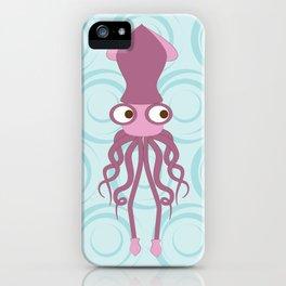 Shock Cousteau Squid iPhone Case
