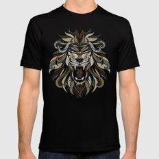 Lion MEDIUM Mens Fitted Tee Black