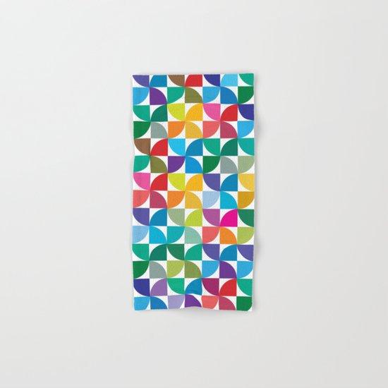 Geometrical work - Colours rotation Hand & Bath Towel