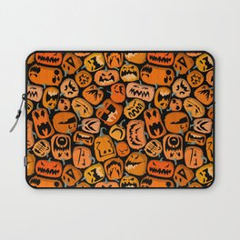 Pumpkin Brawl. Laptop Sleeve