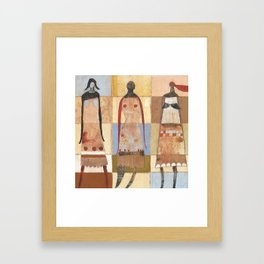 A Part Of Us Framed Art Print