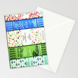 Pretty Book Stack - Part 1 Stationery Cards