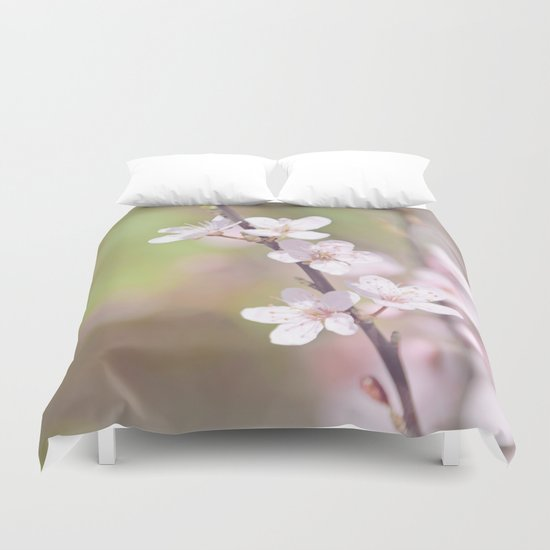Fairytale Cherry Blossom Duvet Cover