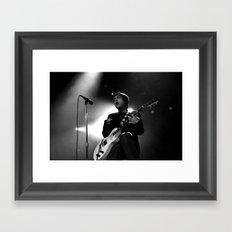 Frank Iero Framed Art Print