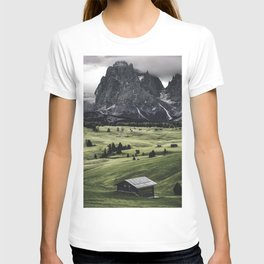seiser alm landscape T-shirt
