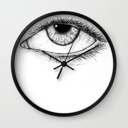 Eye of God Wall Clock