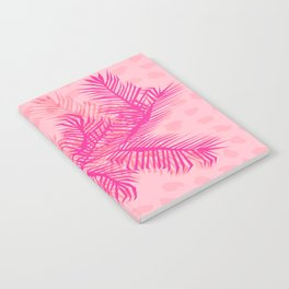 No Can Do - hipster abstract neon 1980s style memphis print palm springs socal los angeles desert Notebook