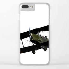 biplane Clear iPhone Case