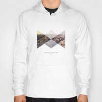 parks Hoodies featuring National Parks: Badlands by Roadtrippers