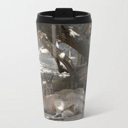 Kangaroos resting Travel Mug