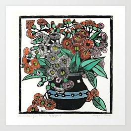 """Australian Gum Blossoms"" by Margaret Preston Art Print"