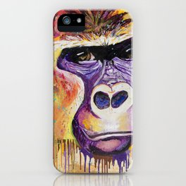 Wild In Thought iPhone Case