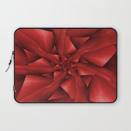 Red Spiral Arms Laptop Sleeve