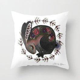Angora Throw Pillow