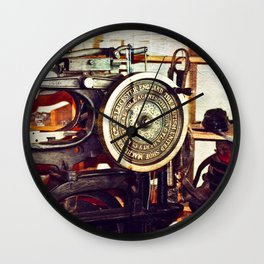 """C"" is for Cobbler  Wall Clock"
