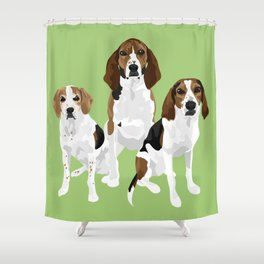 Gracie Lincoln and Greta Shower Curtain