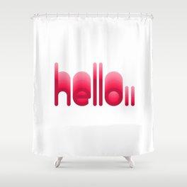 Echo 01 Shower Curtain