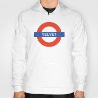 velvet underground Hoodies featuring Velvet Underground by WALRUS