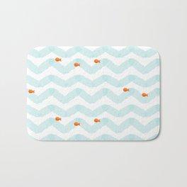 Golf Fish Bath Mat