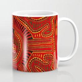 Kuna Indian Mola Coffee Mug