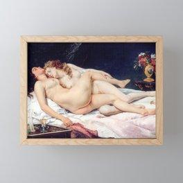 NUDE ART : The Lovers Framed Mini Art Print